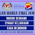 Permohonan Bantuan Warga Emas JKM RM500 2021
