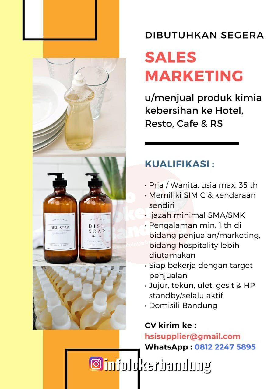 Lowongan Kerja HSI Supplier Bandung November 2019