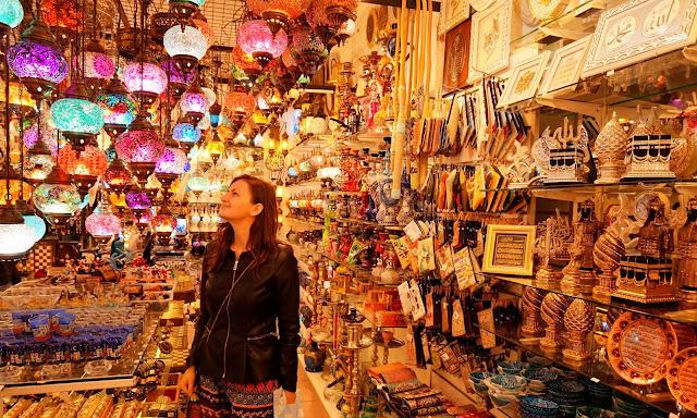 shopping in Bodrum, Turkey