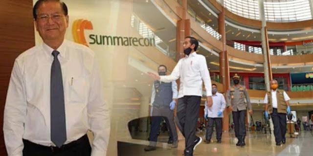 mengapa Presiden Jokowi hari Selasa siang (26/5) tiba-tiba mendatangi Mall Summarecon Bekasi?    Padahal di Bekasi paling tidak ada dua mall besar lainnnya yang terletak di lokasi strategis yakni Metropolitan Mall dan Grand Metropolitan. Tahukah Anda siapa pemilik Summarecon Mall Bekasi?    Dia adalah pengusaha properti Sutjipto Nagaria (79). Sutjipto adalah pendiri sekaligus pemilik   PT Summarecon Agung Tbk (SMRA).