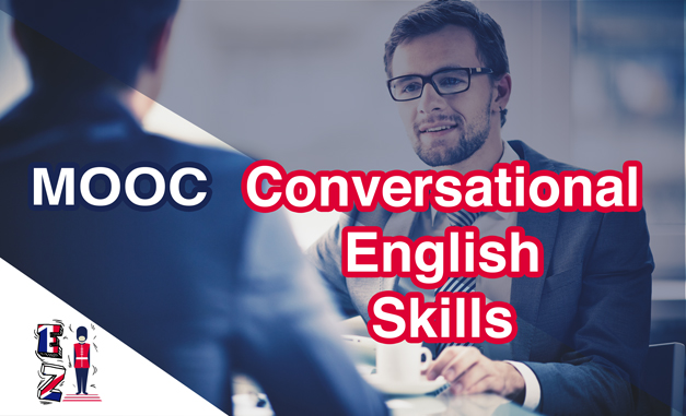 Develop your conversational English skills and get your certificate