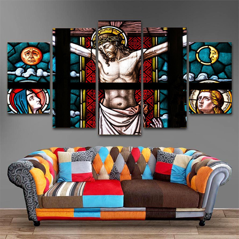 Tranh công giáo Chúa Giê Su Chịu Tội T39