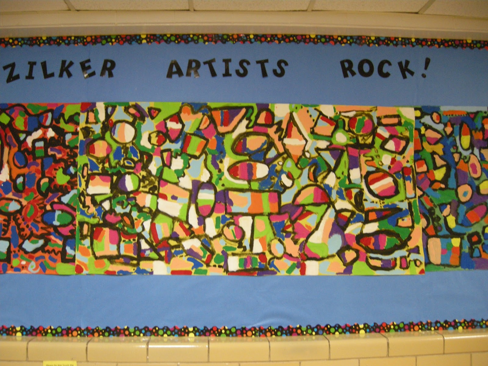 Zilker Elementary Art Class Welcome Back To School