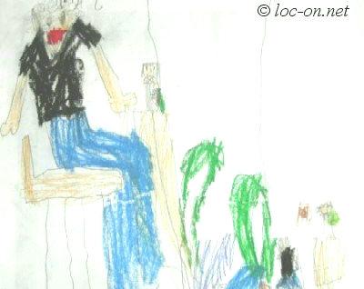 2005年8月 デンデンの絵日記+キャネーワインに関する思い出
