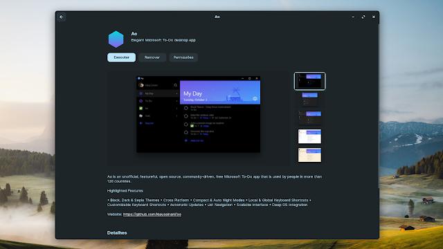 Usando o MS To-DO no Linux através do cliente não oficial opensource Ao