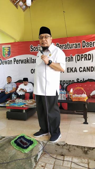 TEC Sosialisasikan Perda Perlindungan Anak di Lampung Selatan
