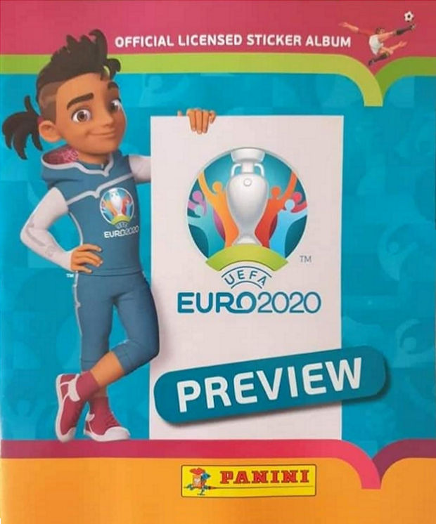 Panini Adrenalyn XL Euro 2020 skillzy officiel mascotte Carte
