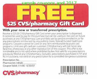 coupons for prescriptions cvs