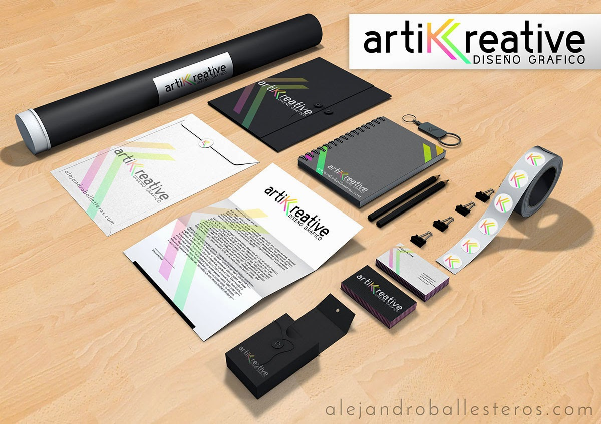 Artik Creative branding design Alejandro Ballesteros