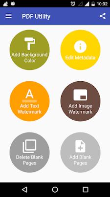 تطبيق قراءة وتخصيص الكتب الالكترونية PDF Utility - PDF Tools مدفوع للأندرويد