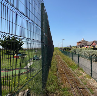 The MiniLinks Crazy Golf course and Miniature Railway in Lytham Saint Annes