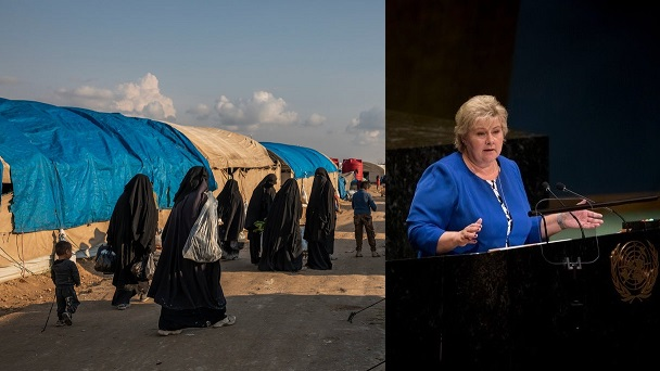 طوشة داخل الحكومة النرويجية بعد إسترجاع داعشية من سوريا