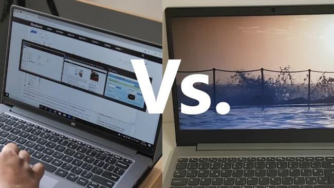 Mi Notebook 14 Horizon vs Lenovo IdeaPad S145 Face-off.