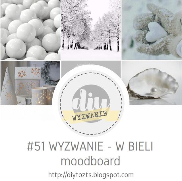 Wyzwanie  - W bieli - moodboard