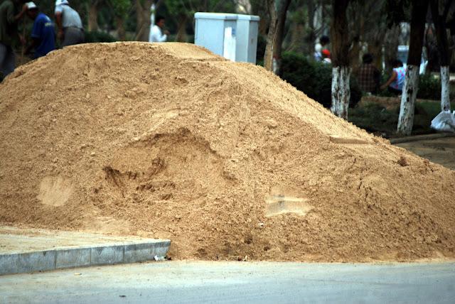 كيف تتحقق من جودة الرمل (الركام الناعم) في الموقع؟
