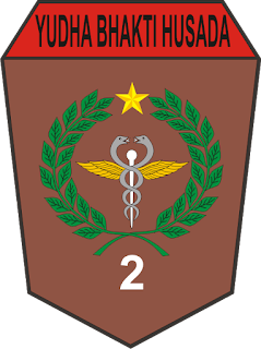 logo vector cdr batalyon kesehatan yonkes 2kostrad