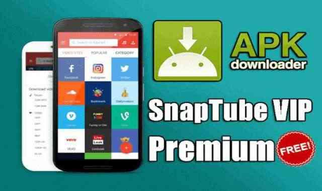 تحميل تطبيق SnapTube VIP APK عملاق تنزيل الموسيقى والفيديوهات من YouTube إصدار مدفوع للأندرويد
