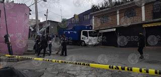 Matan a repartidor de Gas L.P. en Naucalpan