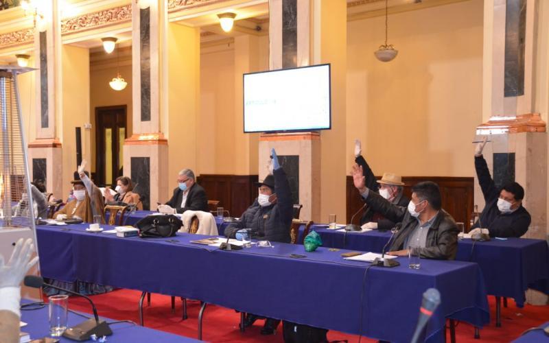 El Legislativo todavía es controlado por los dos tercios del partido de Evo Morales / SENADO