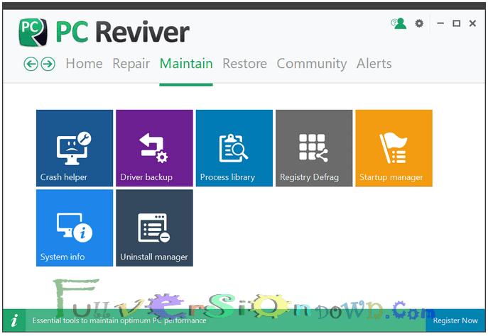 ReviverSoft PC Reviver Full Crack