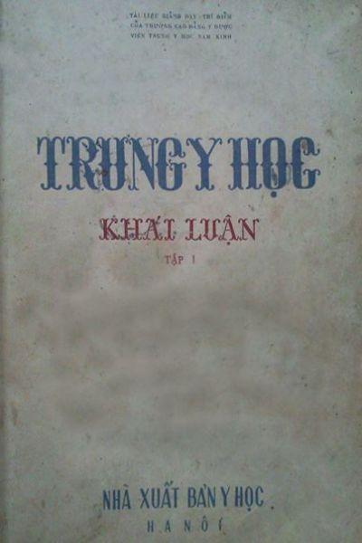 10   Trung y hoc khai luan