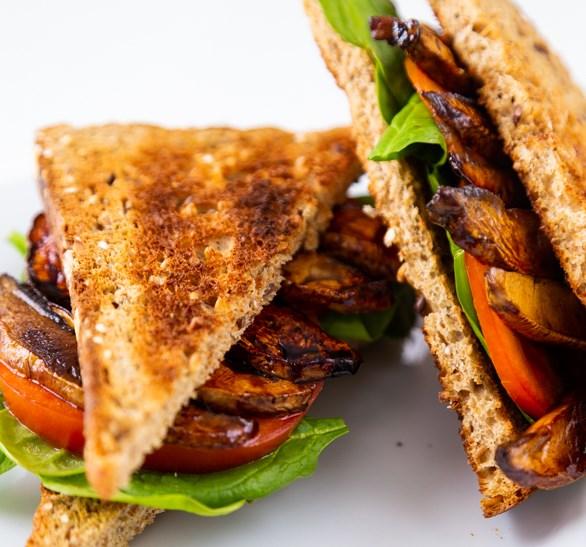 PORTOBELLO MUSHROOM BACON – VEGAN BACON #veggies #glutenfree
