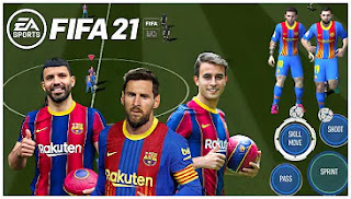Download FIFA 14 MOD FIFA 21 Android New Update Transfer 2021 & New Commentary Best Graphics