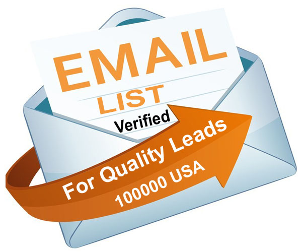 100K Verified USA Email list