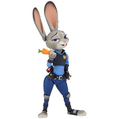 """Figure Complex Movie Revo (Revoltech) Judy Hopps de """"Zootopia"""" - Kaiyodo"""