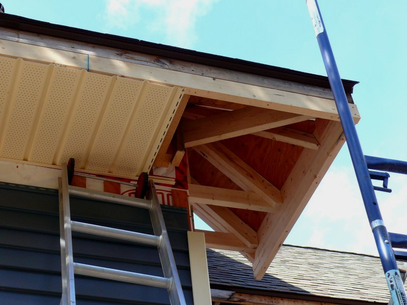 Building A House A Simple Plan Wrap Around Eaves