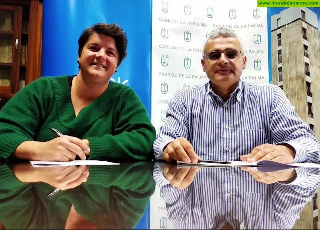 La Fundación Isonorte recicla y convierte en arte la TransvulcaniaNaviera Armas