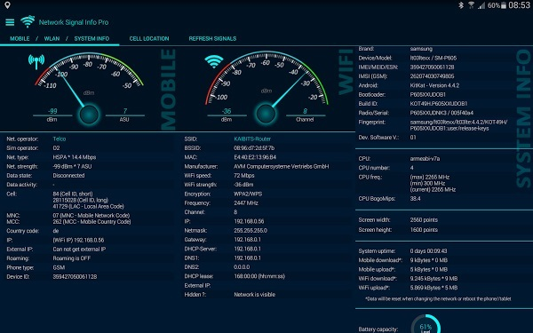 Network Signal Info Pro 5.16.24 Apk