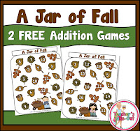 Free Jar of Fall Addition Game