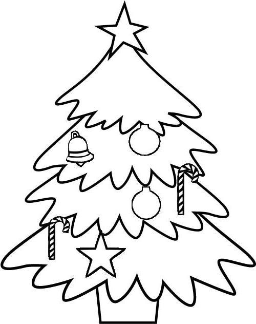 jogo desenhos de Árvore de natal para imprimir e colorir no jogos