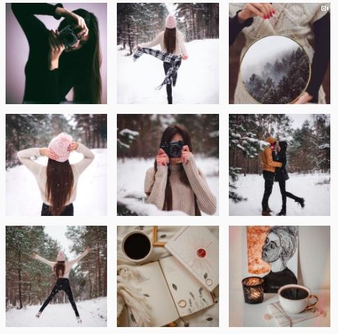 kreatywny instagram