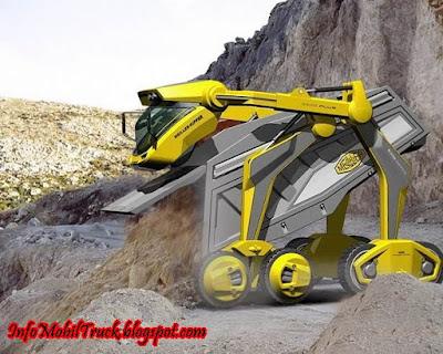 Gambar modifikasi mobil dam truk masa depan