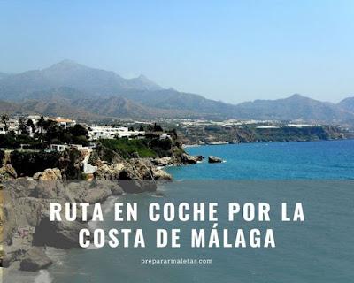 ruta en coche costa de Málaga España
