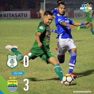PSMS vs Persib 0-3 Highlights