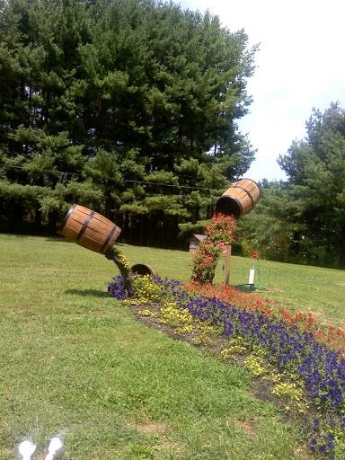 Hall Of Flowers Flower Display At Forge Valley Event Center