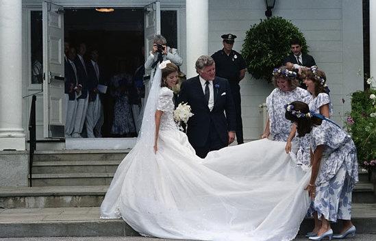 Caroline Kennedy Wedding Rare Pictures