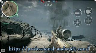 تنزيل لعبة أبطال الحرب العالمية الثانية World war heroes ww 2 shooter مهكرة جاهزة آخر إصدار للأندرويد