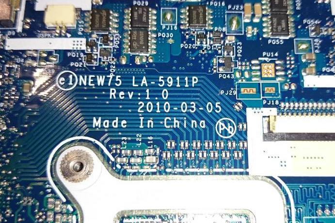 LA-5911P Rev 1,0 Acer Aspire 5551G 5552G PEW76 Bios