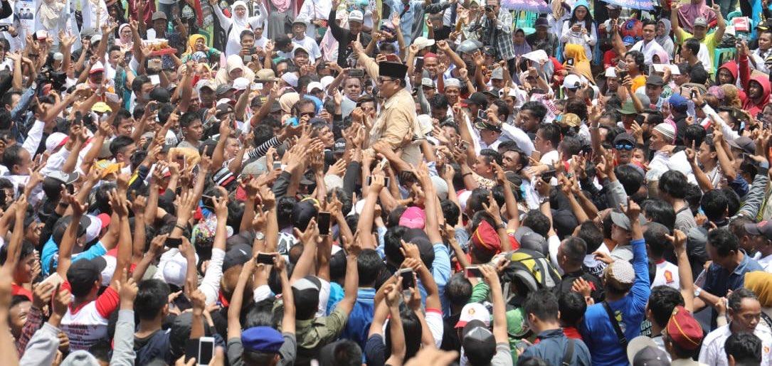 Capres Prabowo Dilarang Shalat Jum'at!