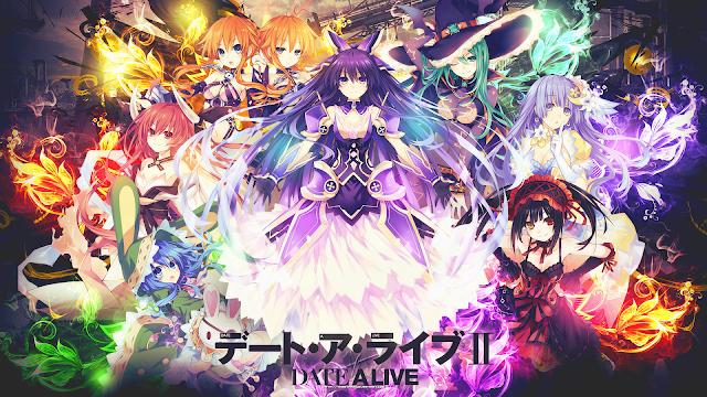 Date a Live II (10/10) + OVA (72MB) (HDL) (Sub Español) (Mega)