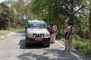 समस्तीपुर शहर से गाँव तक पूर्ण लॉकडाउन के 2रा दिन नियम तोड़ने वाले को सख्ती से प्रशासन पालन करवाते हुए