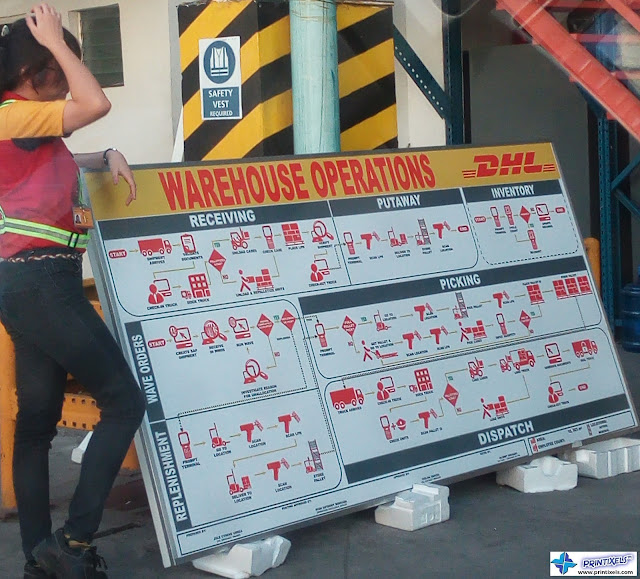 Outdoor Safety Signage - DHL Philippines
