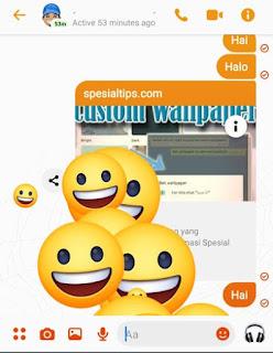 Fitur Facebook Messenger Word Effects