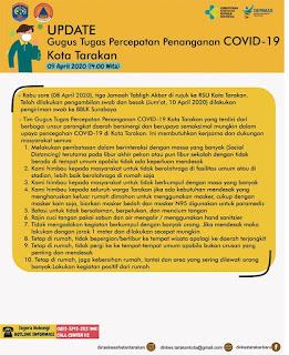 Press Release COVID-19 Tarakan 9 April 2020 - Tarakan Info
