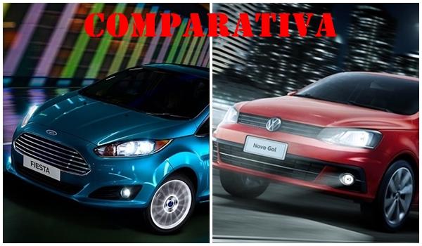 Comparativa Ford Fiesta vs Volkswagen Gol