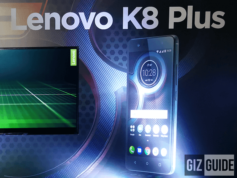 Lenovo K8 Plus is now in the Philippines